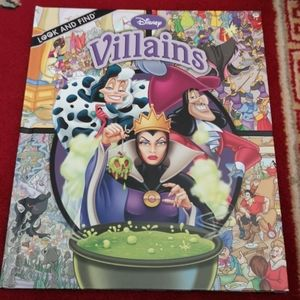 Look and Find Disney Villains Book